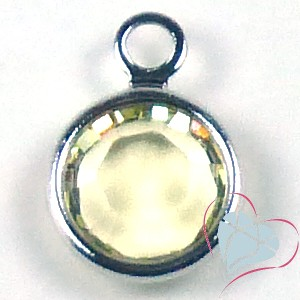 SWAROVSKI® Element Jonquil Round Channel - 1 Loop